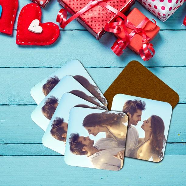Custom Photo Coasters